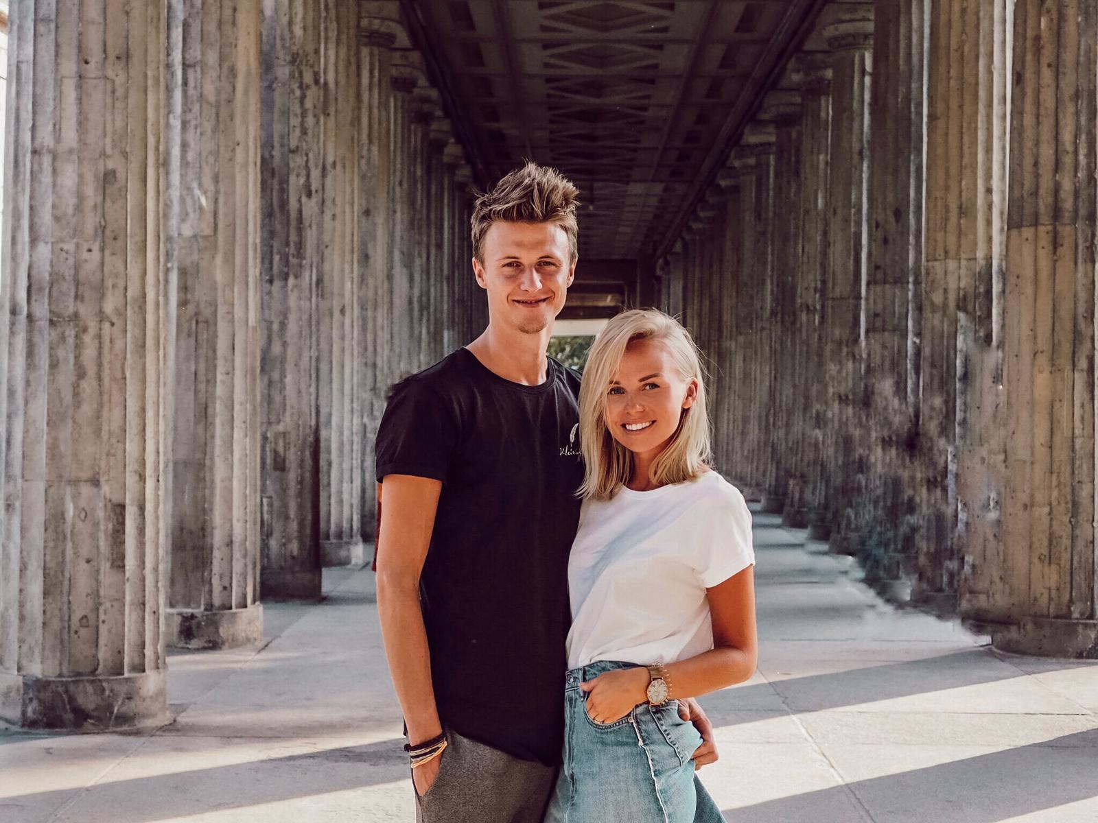 Jennifer Viertl und Adrian Rehling